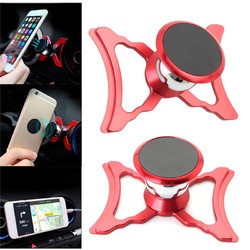 Metal Magnetic 360 Degree Rotation Car Air Vent Phone Holder Stand for Mobile Phone
