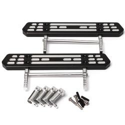 Aluminum Side Step Plate Padels Set For AXIAL SCX10 1/10 RC Crawler Car