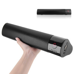 AWI ES-978 HiFi Soundbar Wireless bluetooth Speaker 3D Stereo FM Radio TF Card Hands Free Soundbar