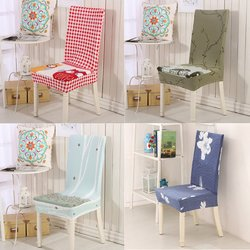Household Chair Covers Elastic Anti-fouling Seat Sub-set 3 Colors Chioce Chairs Cover