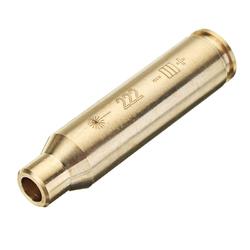 Cal 222 REM Laser Boresighter .222 Red Dot Sight Brass Cartridge Bore Sighter