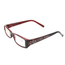 Unisex Portable Carving Reading Glasses Presbyopic Glasses