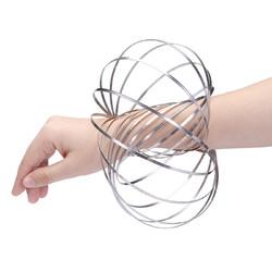 Stainless Flow Rings Magic Bracelet Flowtoys Exercise Artifact Creative Toys Gift
