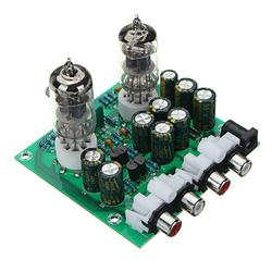 Aassembled AC 12V 1A 6J1 Preamp Tube Preamp Amplifier Board PreAmplifier Module Pre-Amp Headphone Bile Buffer Stereo Bass HIFI X10-D