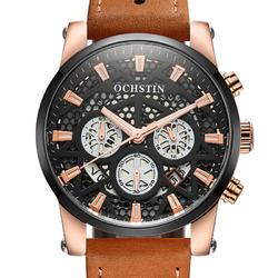 OCHSTIN GQ067B Working-dials Calendar Creative Wrist Watch