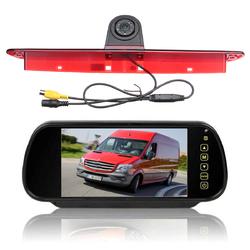7 Inch Car Rear View Camera Monitor w/Brake Light Reversing Camera Kit Fit Mercedes Sprinter