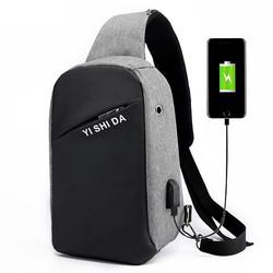 Anti Theft Chest Shoulder Bag for Men