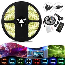 5M 48W SMD5050 RGBW Waterproof Smart Wifi Alexa Google APP Control LED Strip Lights EU US Plug DC12V Christmas Decorations Clearance Christmas Lights