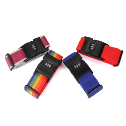 Honana Suitcase Belt Non Slip Strength Travel Belt Luggage Strap with 3 Digit Combination Lock