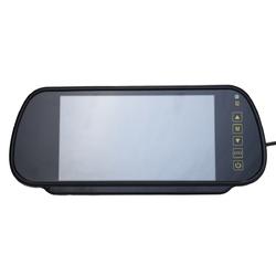 7 Inch LCD Mirror Monitor Car Rear View Kit Reverse Backup Parking Camera 170 Degree IP67