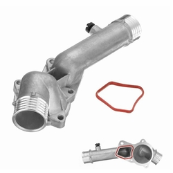 Engine Coolant Thermostat Pipe for BMW E38 E39 528i