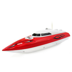 Flytec 2011-15A 24CM 40HZ Water Cooled Motor RC Boat Wireless Racing Fast Ship