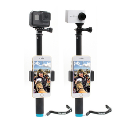 Bakeey Handheld Monopod Tripod Selfie Stick Pole with Clip for Smartphones GoPro Hero 4 5 6 SJCAM