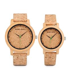 BOBO BIRD W*M11M12 Unique Design Watch Band Quartz Watches