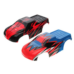 2PC 43*17*14cm ZD Racing Rc Car Body Shell For 1/10 Monster Truck 9105 9106 9106-S Parts