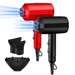 Professional High Power Electric Hair Dryer Cold Hot Air Thermostatic Use for Home Hair Salon Hotel Travel