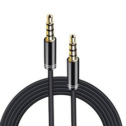 ARCHEER 3.5mm Male to Male Audio Cable 4 Pole Stereo Aux Cable Auxiliary Cable