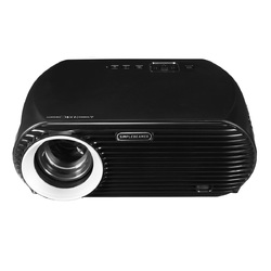 Category: Dropship Smart Devices, SKU #1303850, Title: 3500 Lumen 1080P Full HD LED Projector Home Theater Cinema Wifi 3D For Android