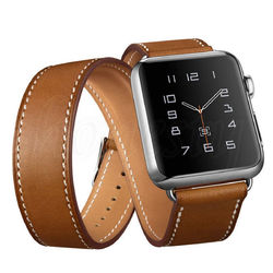 Genuine Leather Watch Band Strap Replacement For Apple Watch Series 1 42mm