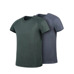 7th Summer Men Short Sleeve Breathe Freely Flower Yarn Quick-drying Fitness Sport T-shirts From Xiaomi Youpin