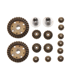 16PCS Upgraded Metal Gear for Wltoys 144001 12428 12423 124011 124301 RC Car Parts