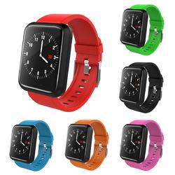 1.3 inch LCD Waterproof Sport Wristband Fitbit Tracker with Heart Rate Blood Presure Smart Wristban
