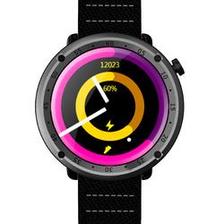 "Bakeey L19 1.3"" Barometric GPS Blood Pressure Heart Rate Call Music Compass Alarm Sport Smart Watch"