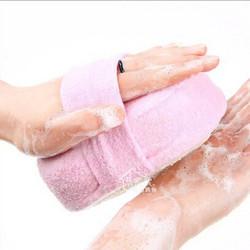 Honana Body Cleaning Mesh Shower Wash Sponge Bathroom Massager Shower Back Spa Scrubber Bathing Tubs Cool Ball Towel Brush