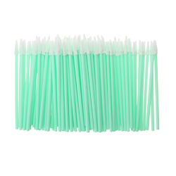 100pcs Pointed Tipped Foam Cleaning Sponge Swabs Stick for Inkjet Printer Camera Optical Cleanroom
