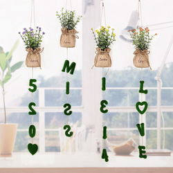 Artifical Grass Plant Wedding Wall Hangings Living Room Decorations DIY Artificial Flowers During Ca