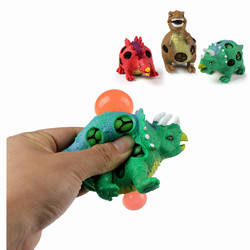 1PC TPR Squishy Dinosaur Jurassic Dinosaurs Squeeze Toy Gift Collection Stress Reliever