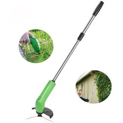 Garden Zip Trim Portable Cordless Trimmer Lawnmower Grass Edger Works With Standard Zip Ties