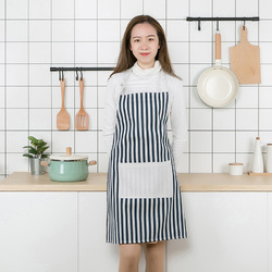 Modern Simple Style Cotton Women Aprons Adjustable Sleeveless Cooking Work Aprons Kitchen