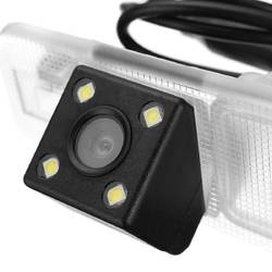 Super Night Vision 4 LED Color CCD Car Rear View Camera Backup Camera Parking Rearview For KIA Rio