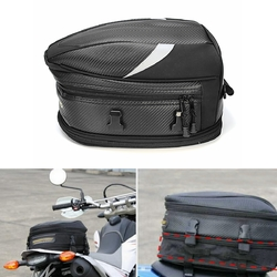 10L Motorcycle Rear Trunk Waterproof Back Seat Carry Luggage Tail Bag Saddlebag