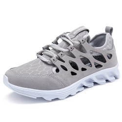 Men Breathable Hollow Outs Athletic Shoes Casual Sports Shoe