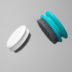 Home Portable Ergonomic Handle Easy Washing Tool Quick Foaming Durable Clothes Cleaning Brush