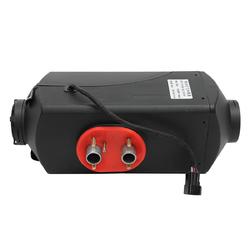 12V 24V Optional Knob Switch 2KW 5KW Adjustable Car Heater With 2 Tubes 2 Outlet