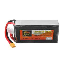 ZOP Power 22.2V 5000mah 75C 6S Lipo Battery XT60 Plug for RC Drone