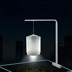 Universal Aluminium Aquarium Light Hanging Stand Holder For Fish Tank Plant Lamp