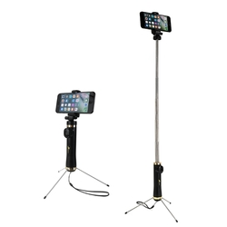Bakeey 3 in 1 bluetooth Remote Tripod Selfie Stick With Reflector For iPhone X 8Plus Oneplus 6 S9+