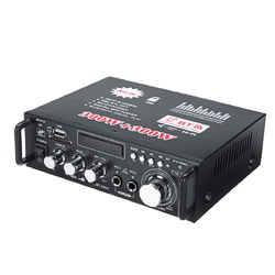 12V 600W bluetooth HiFi Stereo Audio Power Amplifier Remote Control 220V USB