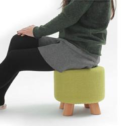 Living Room Pouffe Chairs Sofa Ottoman Foot Stool Bedroom Hallway Chair