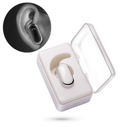 Bakeey L005 Portable bluetooth Earphone Single Invisible Bass Waterproof Earphone With Charging Box