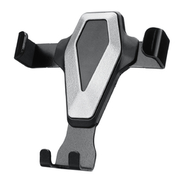 Metal Gravity Linkage Auto Lock Car Air Vent Holder for iPhone Xiaomi Mobile Phone