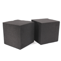 2Pcs 20X Soundproof Foam Absorption Cube Studio Acoustic Music Room Treat 20x20x20cm