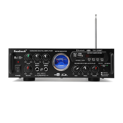 339BT 220V 500W Car Digital LED Display Panel bluetooth Home Karaoke Amplifier Wireless FM Audio