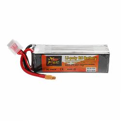 ZOP POWER 22.2V 4000mAh 60C 6S Lipo Battery With XT60 Plug