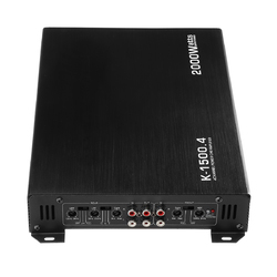 DC 12V Car 4 Channle 2000W Auto Audio Amplifier Power Stereo  Amp