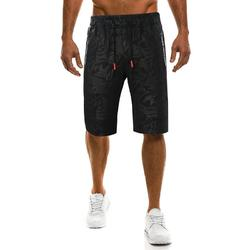 Men's Camouflage Printed Casual Knee-Length Shorts